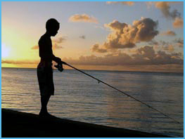Wolf Bay Condo Vacation Rentals - Pier Fishing