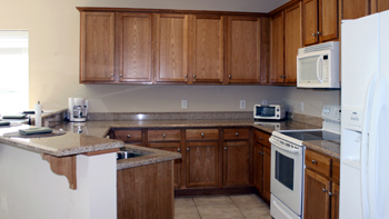 Wolf Bay Landing Condominiums Kitchen