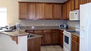 Wolf Bay Landing Condominiums Kitchen