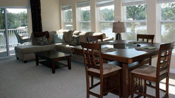 Wolf Bay Landing Condominiums Livingroom